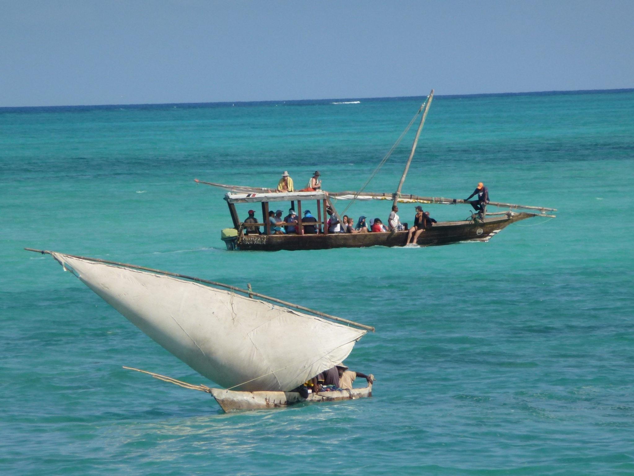 Zanzibar holidays relaxing boating