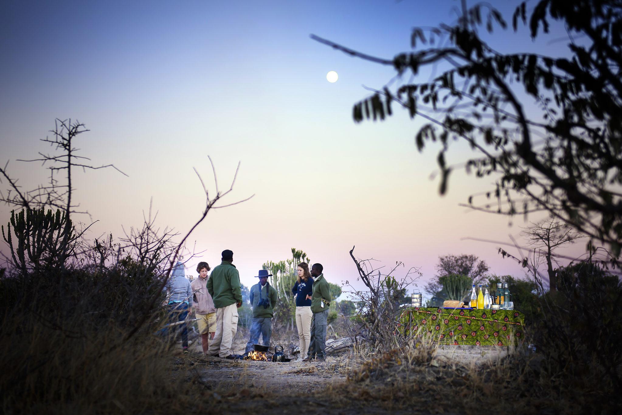 Ila Safari Lodge, Kafue, sundowner, Zambia safari